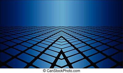 次元, 青, 3, 背景