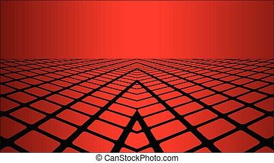 次元, 3, 背景, 赤
