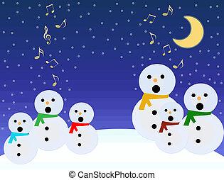 歌いなさい, snowmen