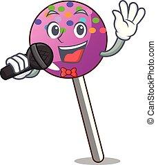 歌うこと, マスコット, 振りかける, lollipop, 漫画