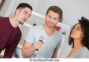 歌うこと, 若い人々