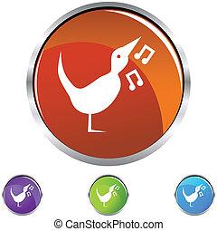 歌っている鳥