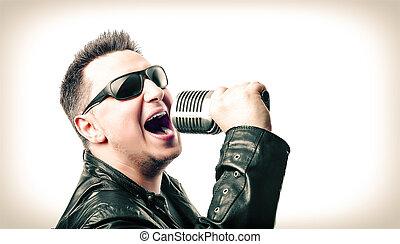 歌手, 岩
