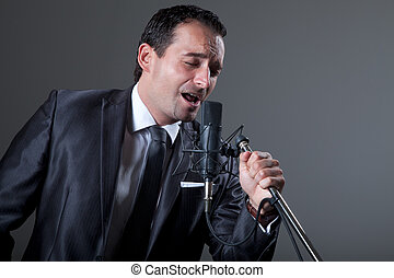 歌手, 歌うこと, マイクロフォン