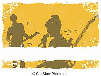 歌手, guitarist