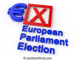 歐洲議會, 選舉