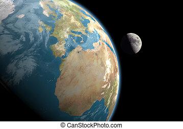 歐洲, &, 月亮