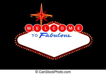 歓迎, へ, ラスベガス