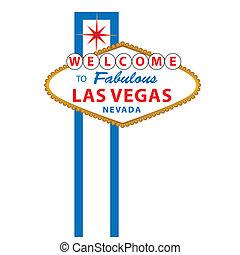 歓迎, へ, ラスベガス, 印