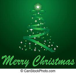 歡樂的聖誕節, 樹