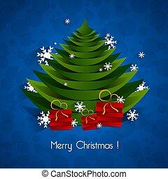 歡樂的聖誕節, 賀卡, 矢量, 插圖