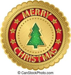 歡樂的聖誕節, 黃金, 標簽