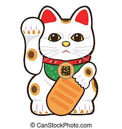 歡迎, 貓, 插圖