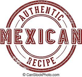 正しい, メキシコ人, レシピ