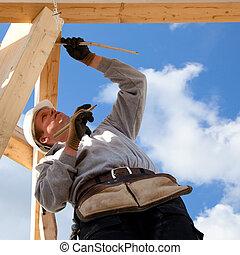 正しい, 建築作業員