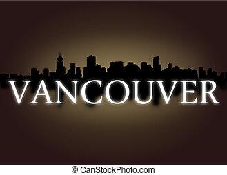 正文, 天空, 反映, 插圖, 地平線, 戲劇性, 溫哥華
