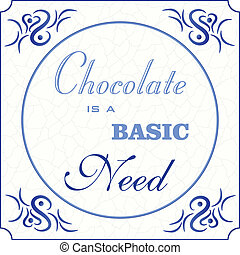 正文, 摘要, eps, 設計, 奶油, 藍色, 矢量, 基本, 瓦片, 各種各樣, grunge, 藍色, 插圖, 巧克力, 背景, 10, 罩子, 灰色, 初始, 傳統, fonts:, 代爾夫特, 需要