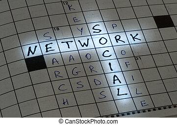 正文, 概念, 网络, 社会