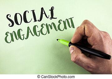 正文, 簽署, 顯示, 社會, engagement., 概念性, 相片, 郵寄, 得到, 高, 伸手可及的距離, 喜歡, 廣告, seo, 做廣告, 銷售, 寫, 所作, 人, 藏品, 記號, 在, 手, 平原, 背景。