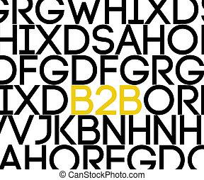 正文,  b2b