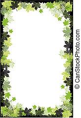 正文, leaf., 秋季, frame:, 地方, here., 你, 枫树