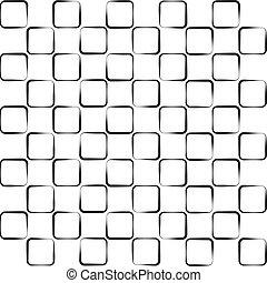正方形, seamless, 背景, ゆがめられた