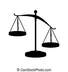正義のスケール, 法律