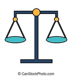 正義, バランス, 法律