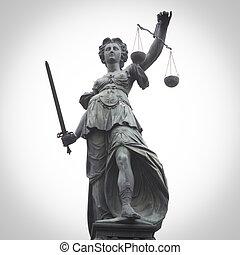 正義, 夫人