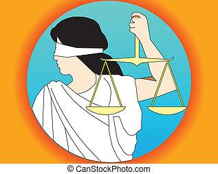 正義, 女神