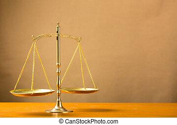 正義, ......的, 規模