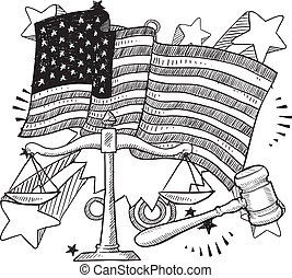 正義, 美國人, 略述