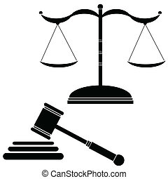 正義, vecto, 黒, イラスト