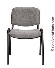 正面図, の, オフィス椅子