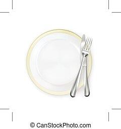 正餐放置, 地方