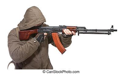 武器, テロリスト