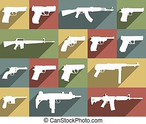 武器, 別, セット, アイコン