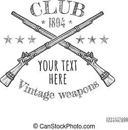 武器, 型, クラブ