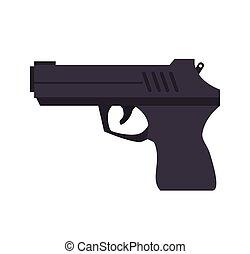 武器, 銃, 半自動