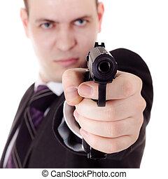 武装させられた, そして, 危ない