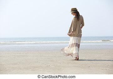 歩くこと, 浜