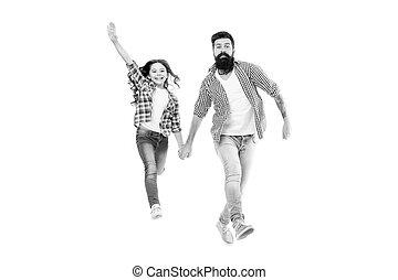 歩くこと, daughter., hands., のように, 私, 父, スタイル, あごひげを生やしている, 情報通, 一緒に。, 子を抱く, 小さい, 娘, 女の子, わずかしか, 愛らしい, 偶然, 友人, 幸せ
