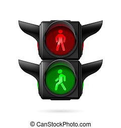歩行者, 信号