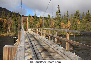 歩道橋, 山