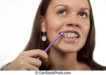 歯ブラシ, ラウンド