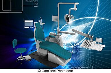 歯医者の, ユニット
