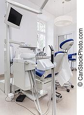歯医者の, 席