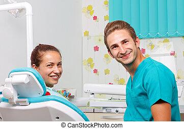 歯医者の, 待遇