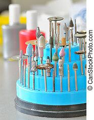 歯医者の, technician's, 道具