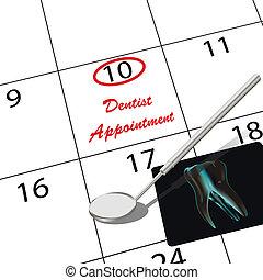 歯科医の 任命
